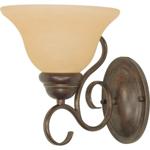 Zoomed:  Sonoma Bronze Arm Wall Sconce