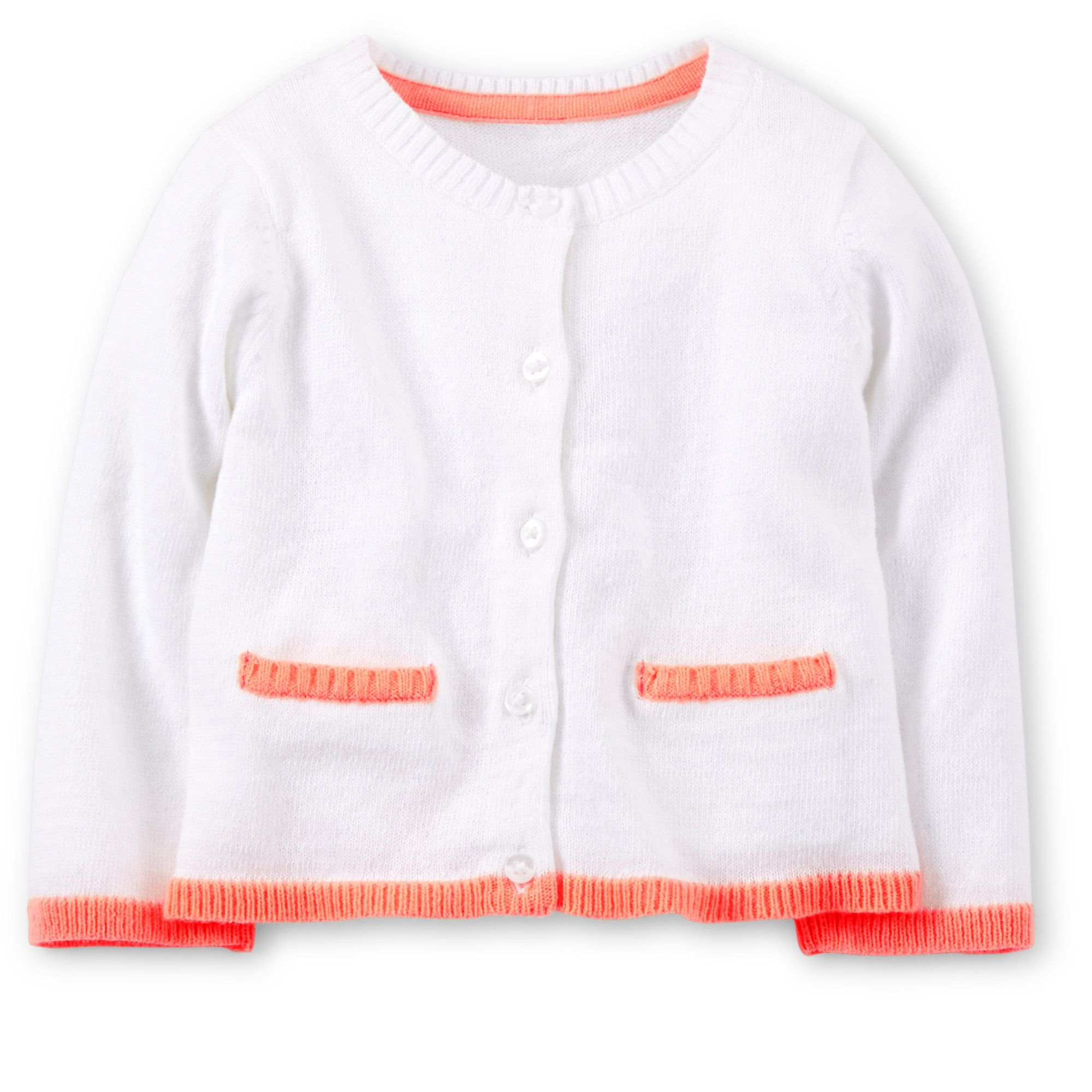 e6b237ada Carter s Baby Girls  Sweater Knit Cardigan (Newborn