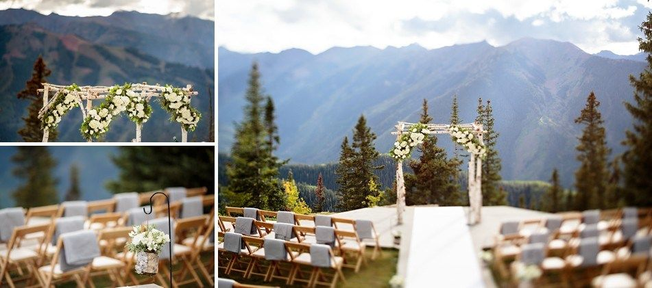 5 Aspen Wedding Deck Yes To This For The Ceremony
