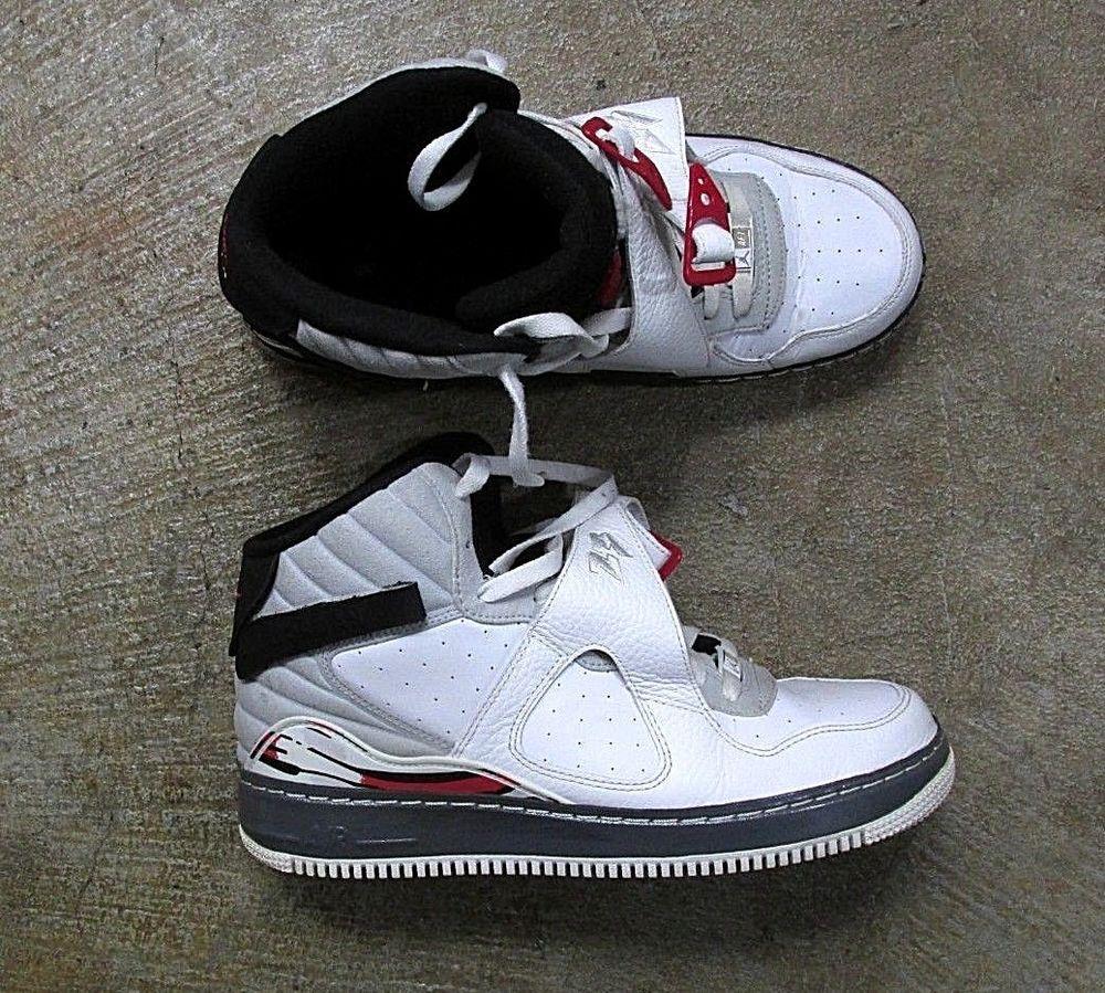 best authentic dbdf3 5d1b2 Nike Air Jordan 8 VIII Fusion Retro 384522-101 White Black Shoes  S4  Nike   BasketballShoes