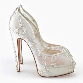 Your Wedding: Gorgeous bridal shoes by Aruna Seth