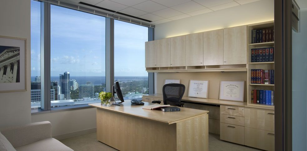 private office design ideas. private office at greenberg traurig miami design ideas b