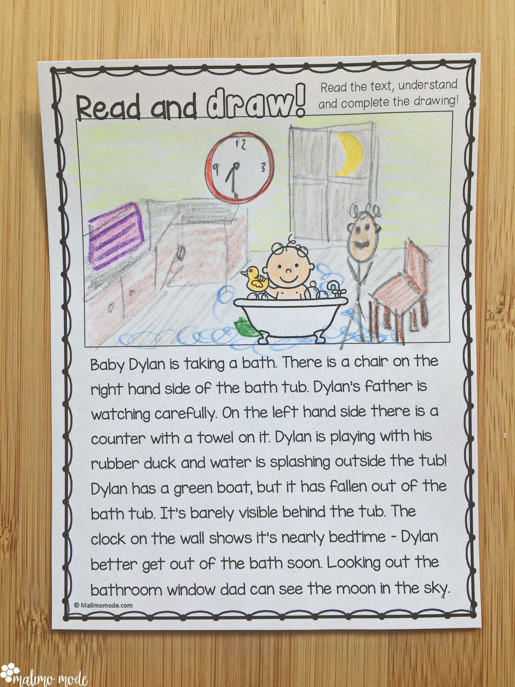 Drawing Based On Reading Comprehension 2
