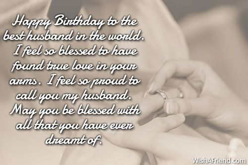 Happy Birthday Love Quotes For My Husband Image Quotes At