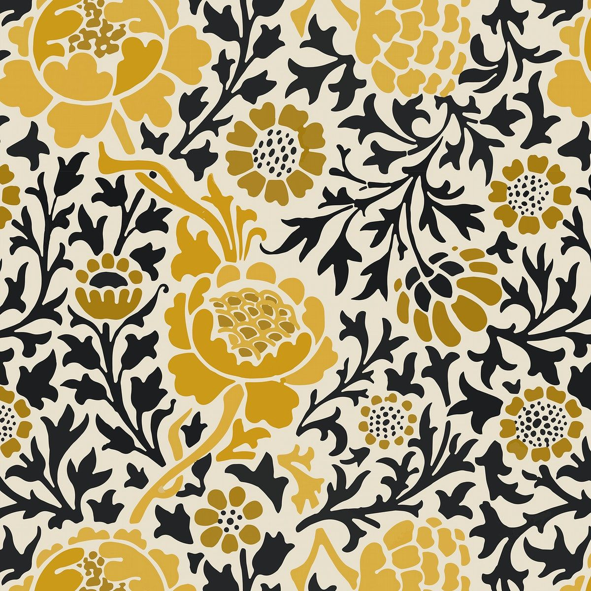 Decorative Vintage Flower Ornament Seamless Pattern Background Vector Free Image By Rawpixel Com In 2020 Vector Background Pattern Vintage Flowers Flower Ornaments