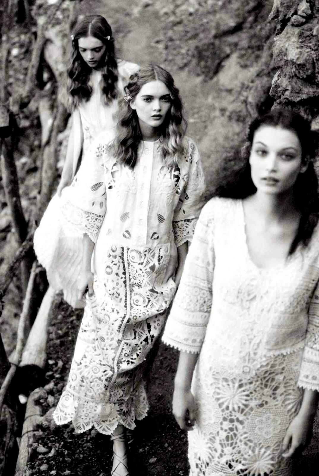 Ellen von Unwerth for Vogue Italia Suggestions May 2015 // STYLESCHOOLBYDANIE.COM