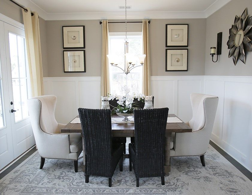 Love The Wainscoting In The Formal Dining Room   D.R. Horton #FindYourHome  #SouthCarolina