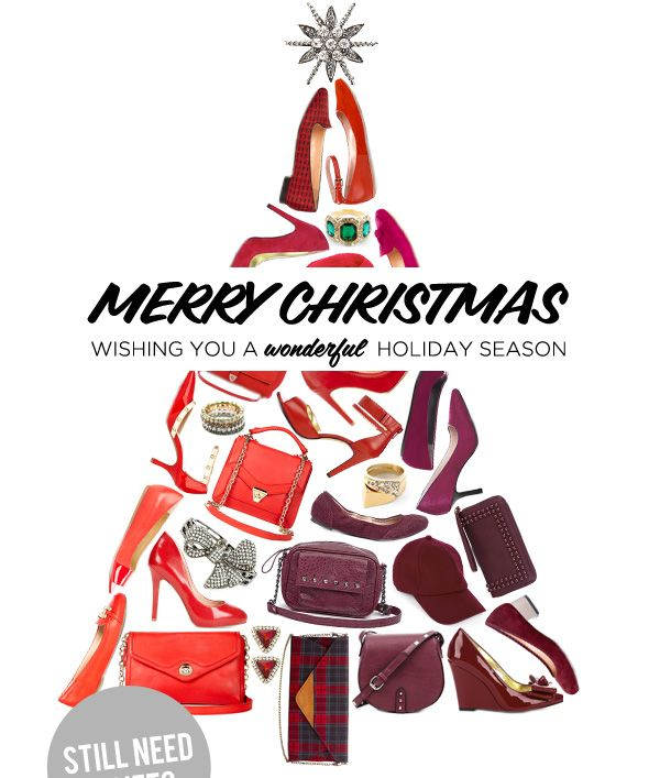 Merry Christmas! Wishing you a wonderful holiday season sale - merry christmas email banner