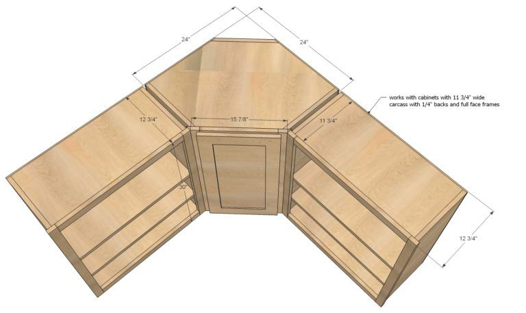 Corner Kitchen Cabinet Sizes Home Improvements Diy