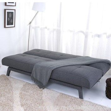 Super Stylish Sofa Bed In Contemporary Grey Medium Firm Spring Seats Free Uk Mainland Delivery