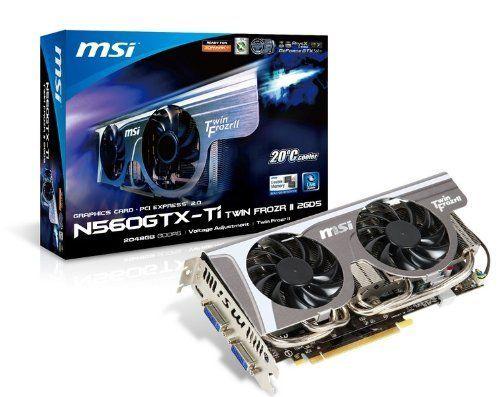 MSI GeForce GTX560 Ti 1 GB DDR5 2DVI/Mini HDMI PCI-Express ...