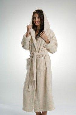 Luxury Line Deluxe Hooded Bathrobe