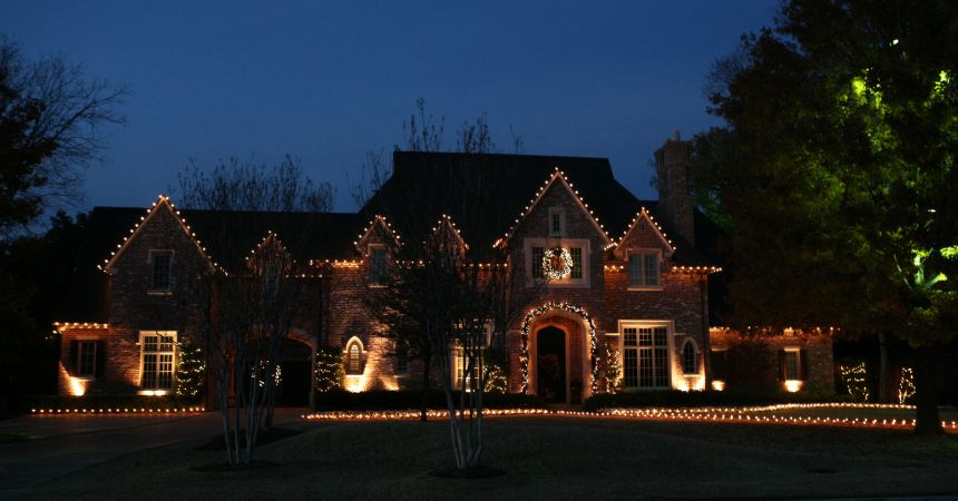 A few extra ground lights illuminating your house can be a grand ...