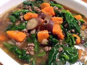 Casa Baluarte Alugbati And Karne Vegetable Dishes Healthy Filipino Vegetable Recipes Filipino Vegetable Dishes
