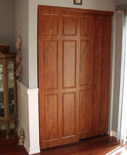 Another Closet Door Idea Wood Sliding Closet Doors Sliding Closet Doors Bifold Closet Doors