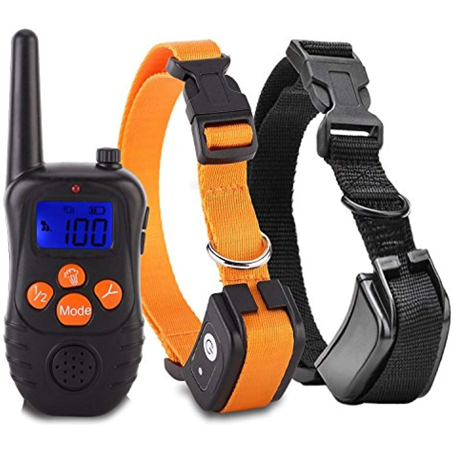 Igingko Dog Training Collar 2018 Upgraded 1000ft Range Remote 100