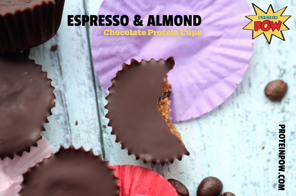 Pre-Workout Espresso & Almond Chocolate Protein Cups Recipe - SFN EXPO 2016