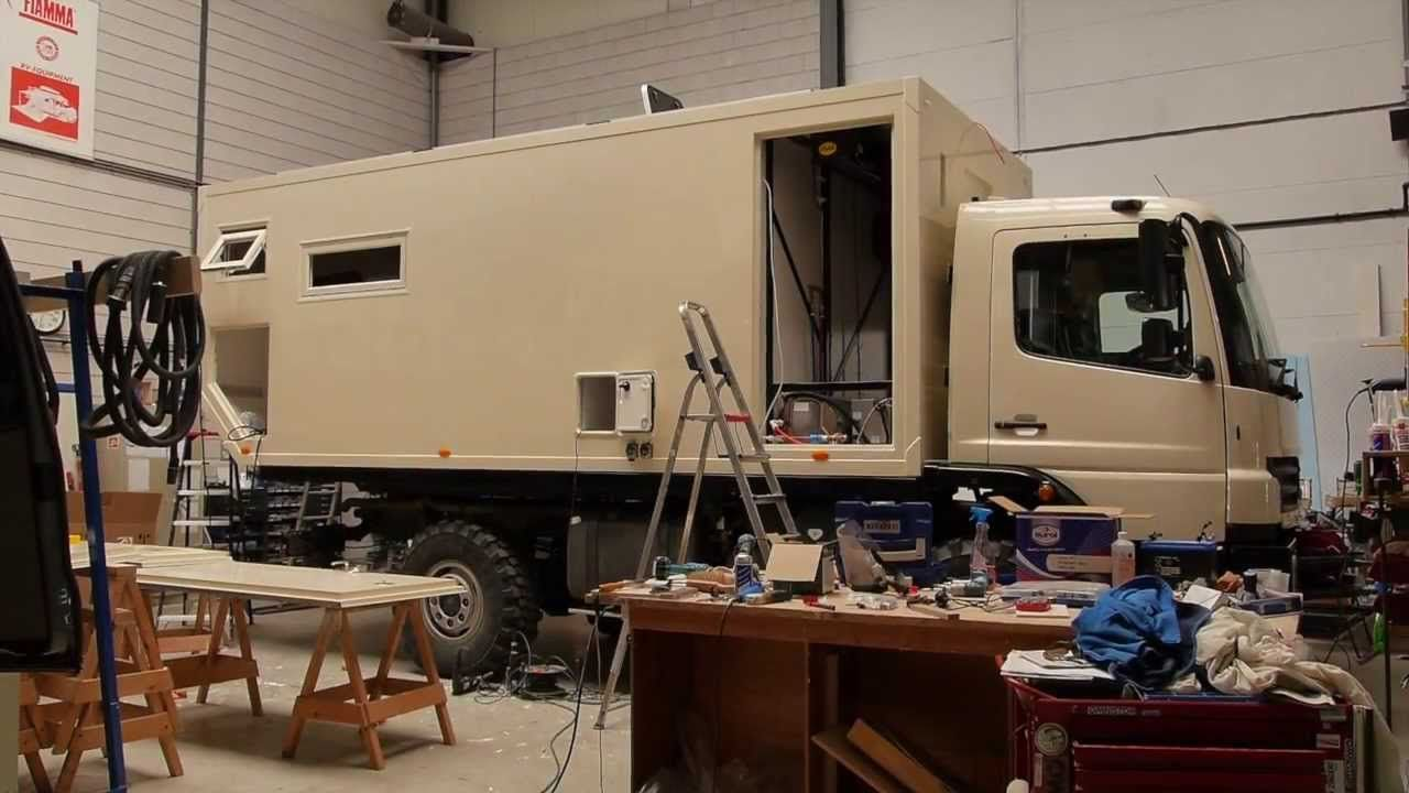 How it's made (part 2): 4WD overland expedition vehicle