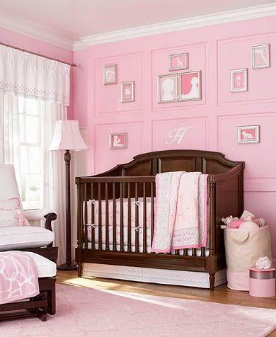 Habitacion rosa y marron colorimetria pinterest habitaciones rosadas marr n y bebe - Habitacion marron ...