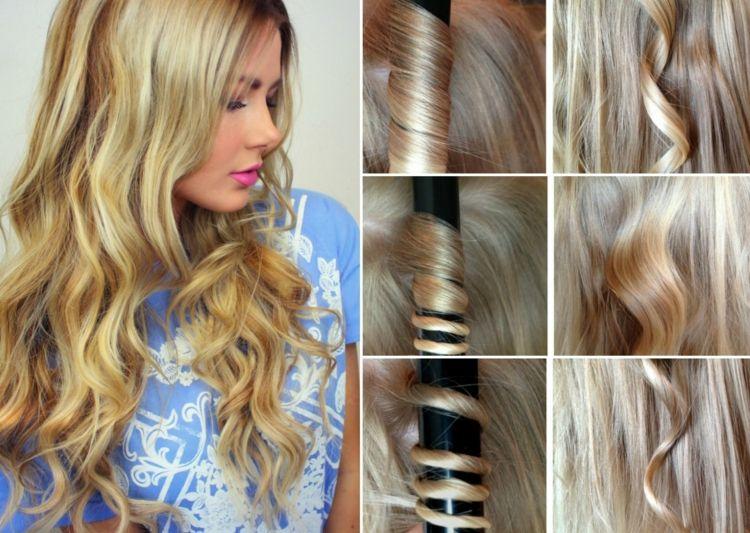 neu haar modelle frisuren 2018 locken mit lockenstab machen hilfreiche tipps anleitungen fur erfolg sexy haarschnitt neu locken mit lockenstab