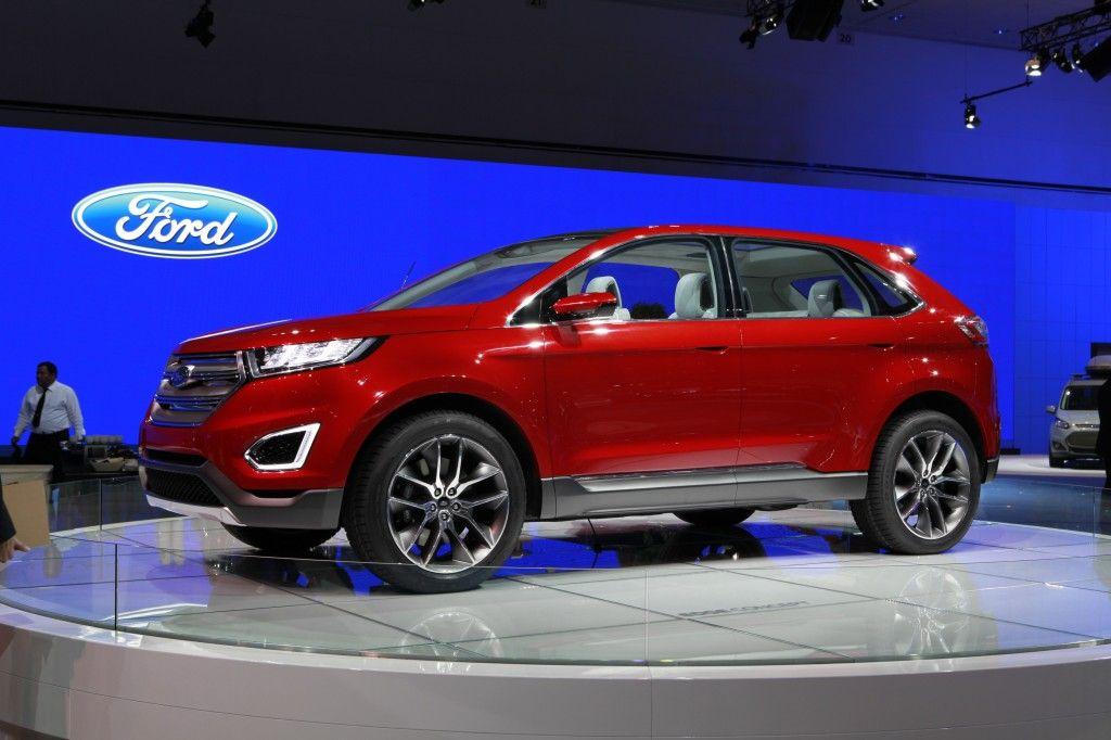 The 2015 Ford Edge Concept Unveiled at 2013 LA Auto Show