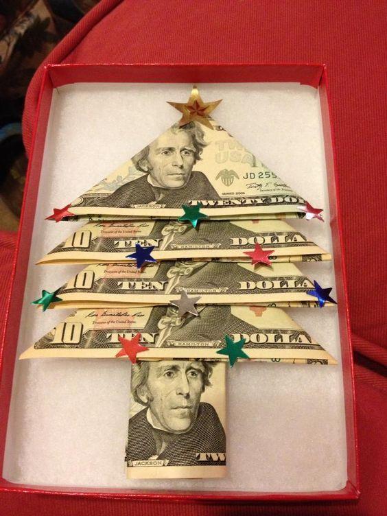 Kreative Möglichkeiten, Geld zu geben   – Christmas
