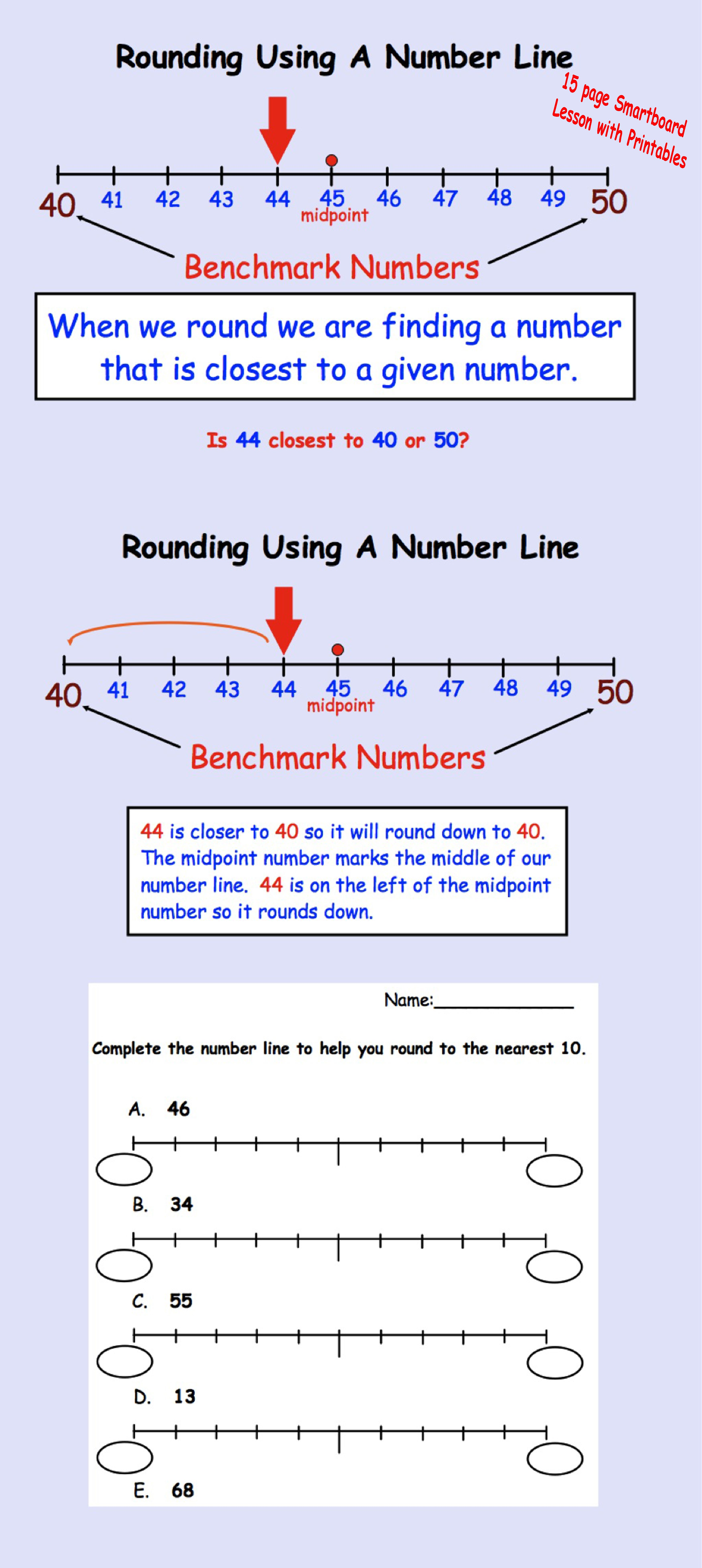 This is a graphic of Old Fashioned Open Number Line Printable