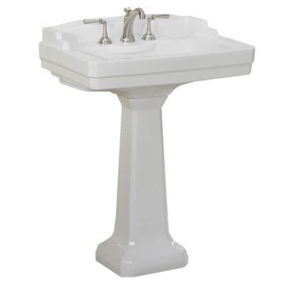 St Thomas Creations Neo Venetian 25 Petite Pedestal Sink Basin