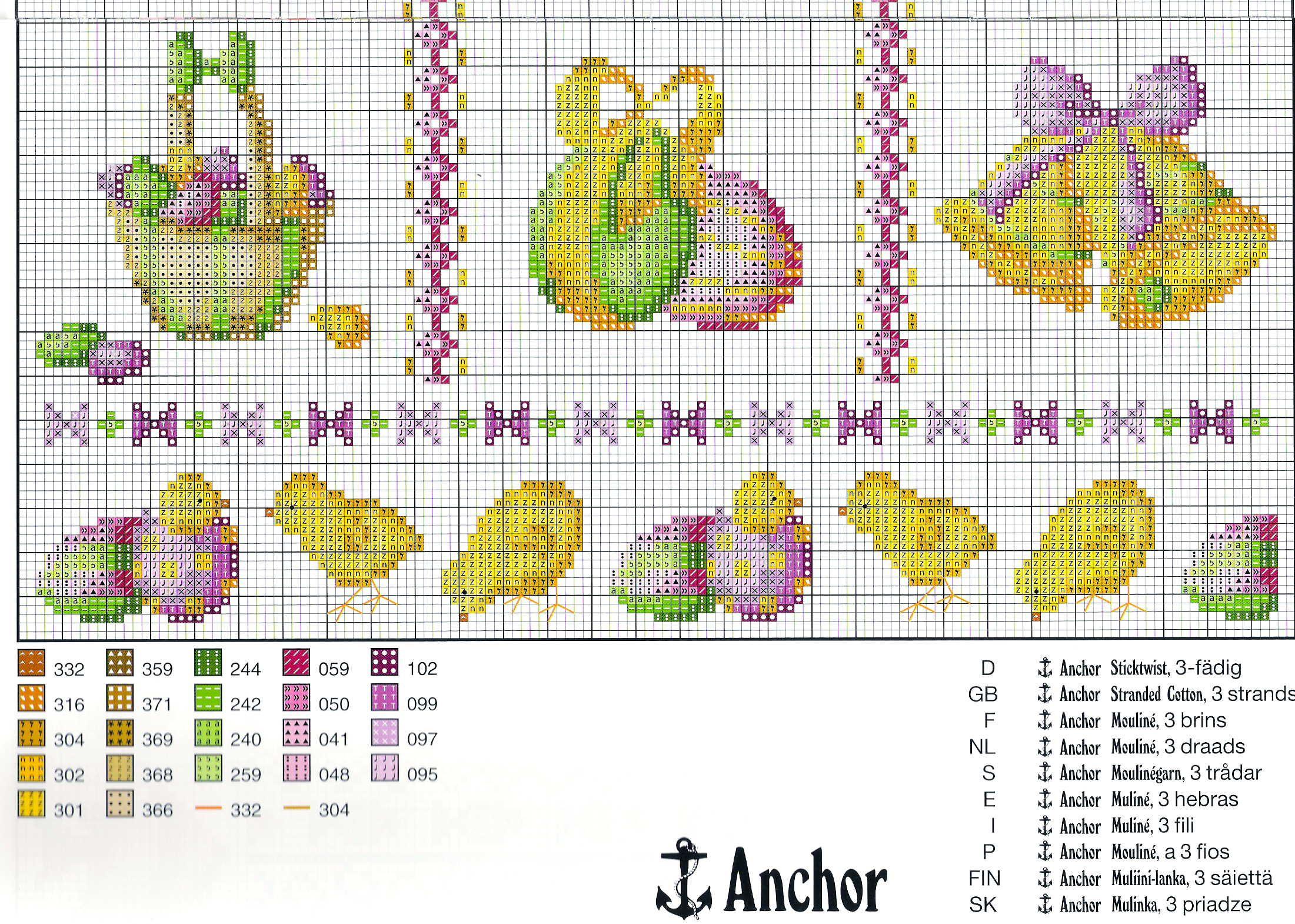 Как самостоятельно сделать схему для вышивания Ярмарка