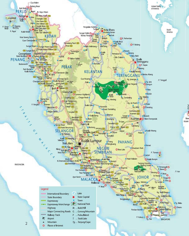 Carte Malaisie Carte Du Monde Carte Du Monde Malaisie