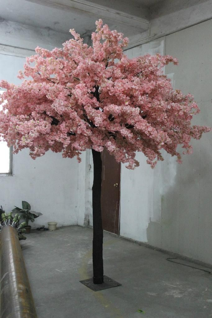 Best Selling Artificial Cherry Blossom Tree Top Quality Fake Artificial Cherry Blossom Tree Blossom Trees Cherry Blossom Decor