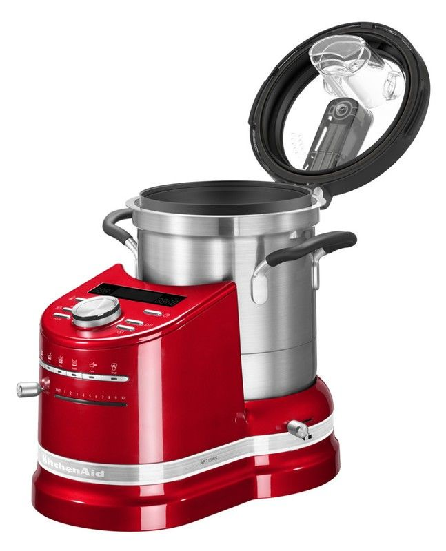KitchenAid Cook Processor ARTISAN, empire rot (HNr 5KCF0103EER\/4 - kitchenaid küchenmaschine rot