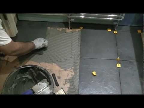 How To Cut Tiles Tile Cutting Youtube How To Tile Pinterest
