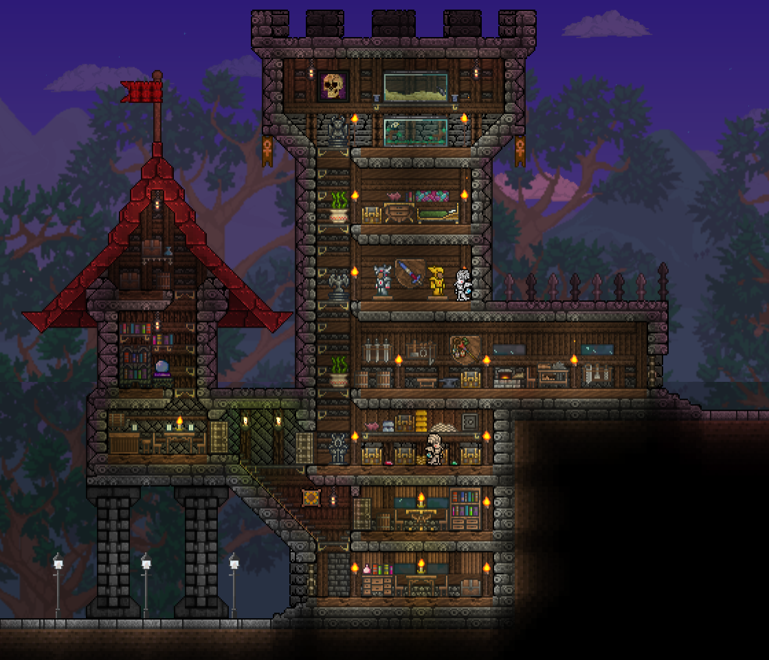 Pin By D G On Terraria: Could Be Turned Into Some Kind Of Blacksmith Shop