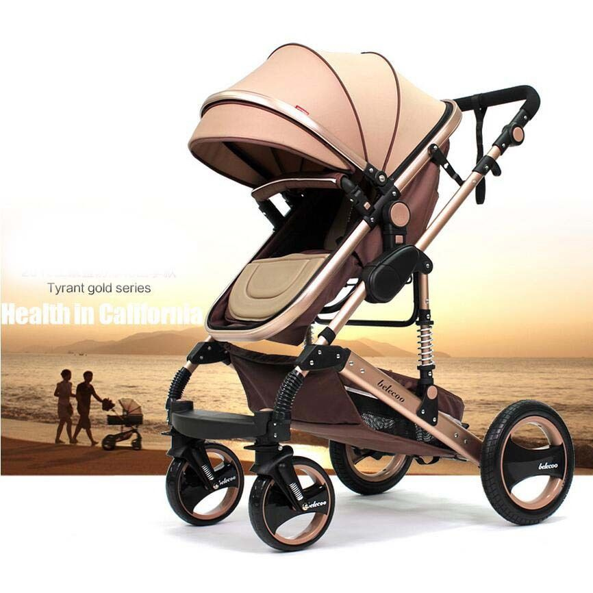 Luxury Baby Carriage Kinderwagen Infant Car Stokke Pram ...