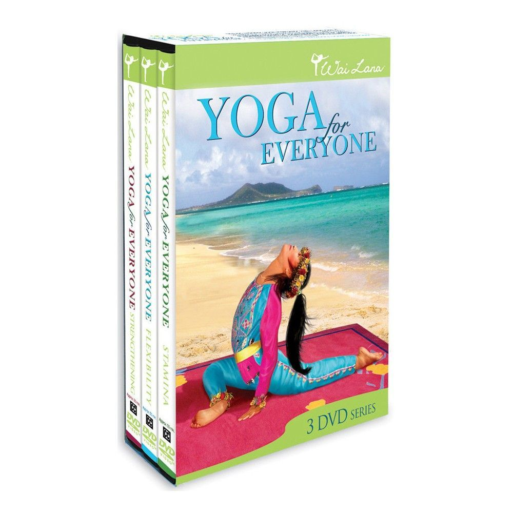 Wai Lana Yoga for Everyone  Tripack  3 Discs   27481934fbcaf