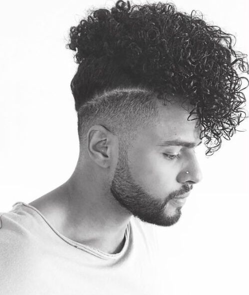 Black Men Hairstyles Long Curly Top Men S Hair Cuts And Styles In