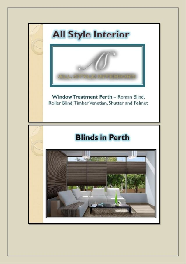 ▇ █★★ All Style Interiors- #Window #Treatment & #Ideas in #Perth ★★█ ▇
