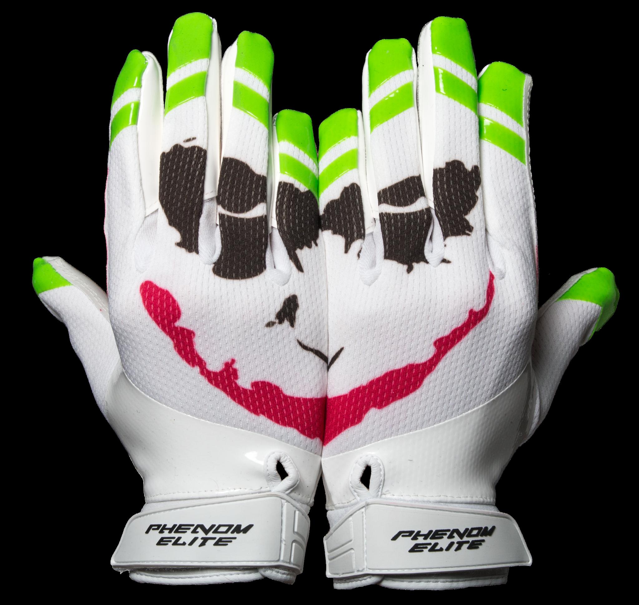 Vps3 Joker Football Gloves Phenom Elite Brand American Football American Football Golf Tips Alabama Foo In 2020 Football Gloves Custom Football Gloves Football Swag