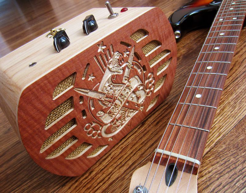 Guitar amp from jewelry box guitar amp guitars and box bass solutioingenieria Gallery