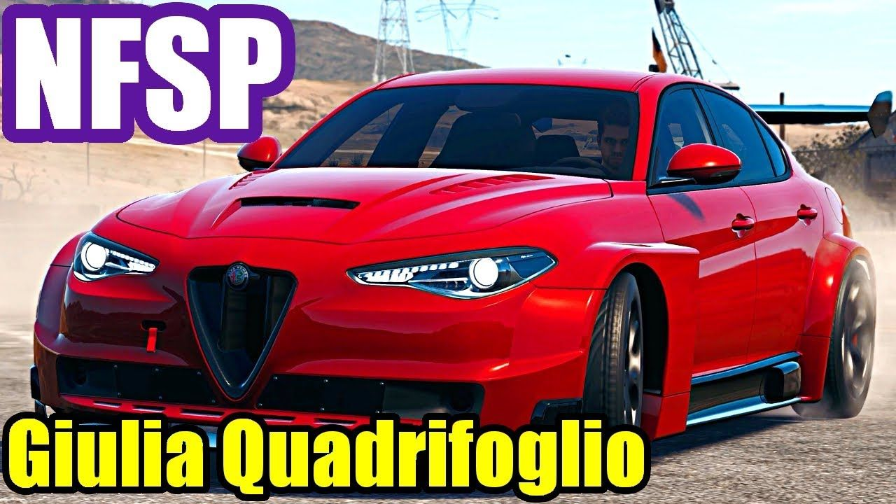 Need For Speed Payback Alfa Romeo Giulia Quadrifoglio Dlc Car
