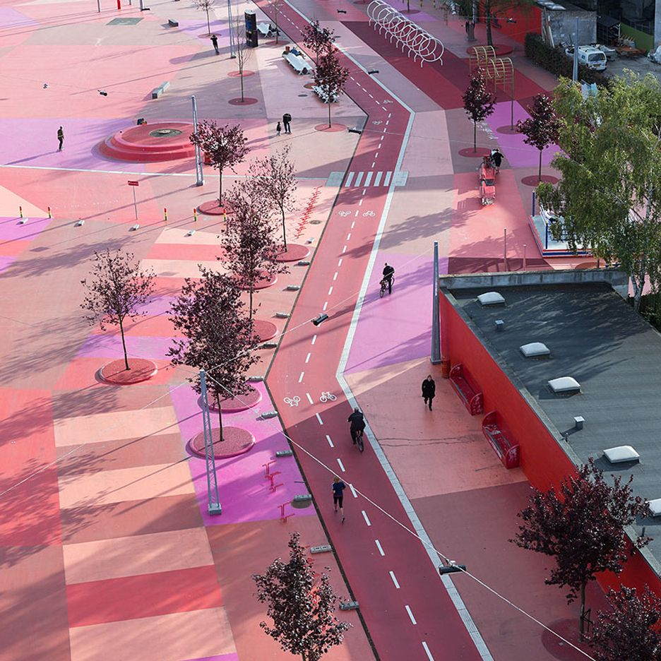 Roof Design Ideas: Superkilen Park, Which Stretches 750 Metres Through The