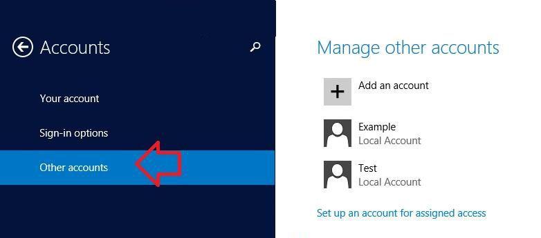 add password to windows 8.1