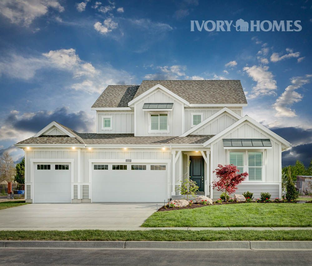 Exciting Bright Cheerful Our Fulton Model In Taylorsville House Exterior House Styles House Plans