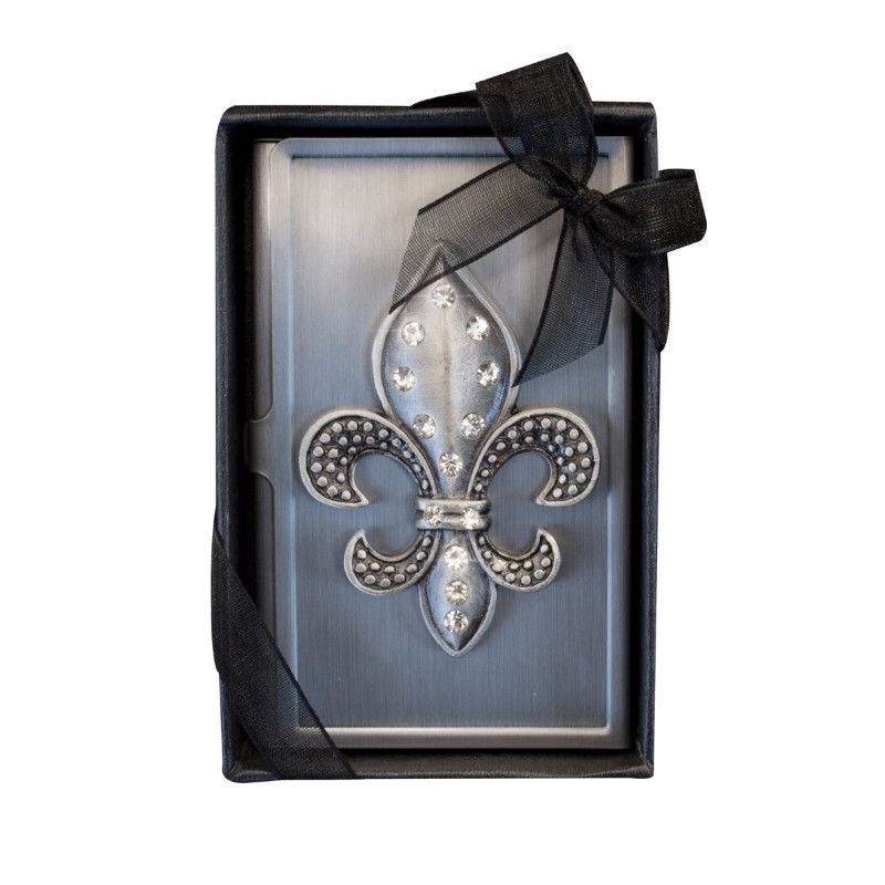 Fleur De Lis Business Card Case | Business card case, Card case and ...