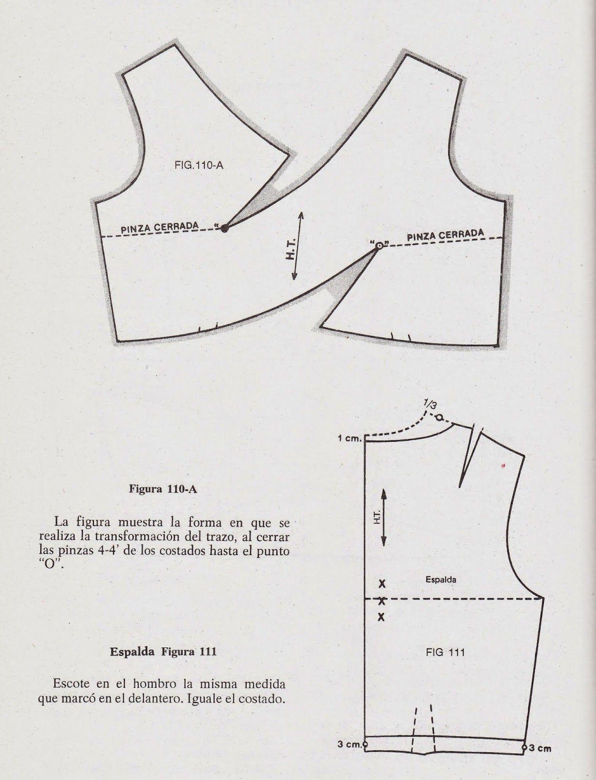 romi w: patrones | Patrones | Pinterest | Boleros, Escote y Patrones