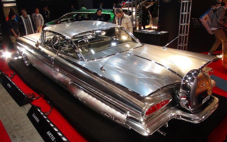 Ghost Chrome 59 Impala Custom Cars Impala Cars Trucks