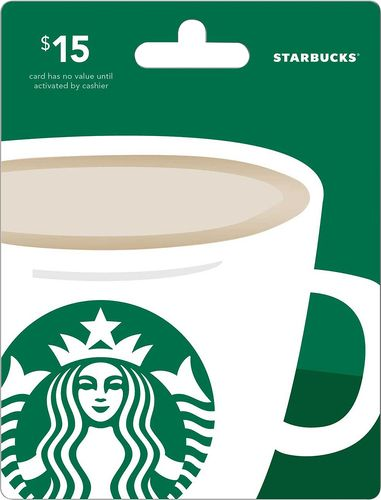 Photo of Starbucks – $15 Gift Card