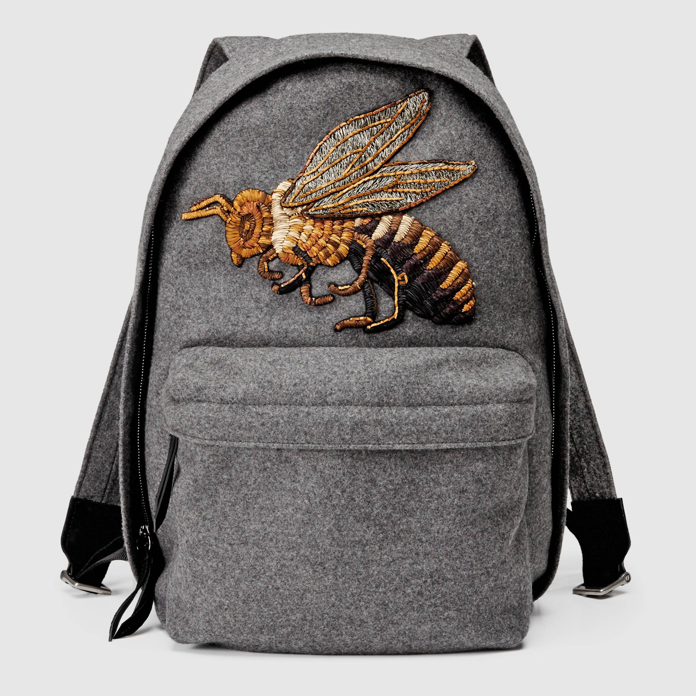Gucci Backpack Black Bee