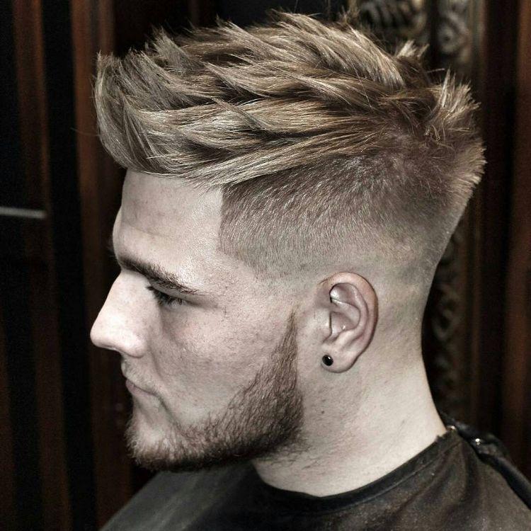 Trendy Männer Frisuren Vorne Lang In 2020 Hair Styles